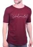 Paco & co t-shirt 202573  μακρύ μπορντό