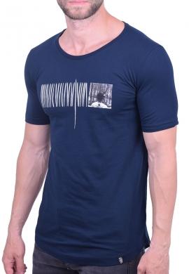 Paco & co t-shirt 202575 με τύπωμα μπλε