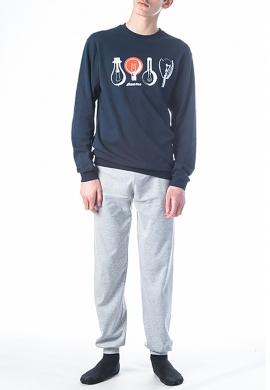 Ανδρικές πιτζάμες χειμωνιάτικες DREAMS BY JOYCE 202001