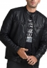 Splendid μπουφάν δερματίνης biker 44-201-044 μαύρο