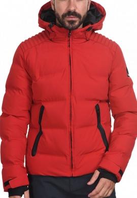 Biston 44-201-039 ανδρικό φουσκωτό μπουφάν κόκκινο