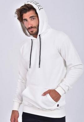 Clever 20160  ανδρικό φούτερ λευκό