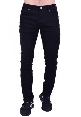 Παντελόνι τζιν σε ίση γραμμή μαύρο