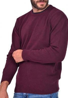 Clever 20670 Μπλούζα Πλεκτή Μπορντό