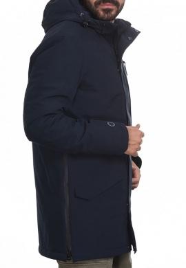 Splendid 44-201-015 ανδρικό demi μπουφάν με κουκούλα μπλε