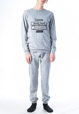Ανδρικές πιτζάμες χειμωνιάτικες DREAMS BY JOYCE 202000
