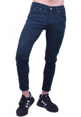 Παντελόνι τζιν slim fit σκούρο μπλε