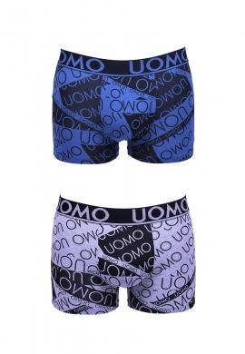 Ανδρικό εσώρουχο Boxer  UOMO σετ 2 τεμάχια