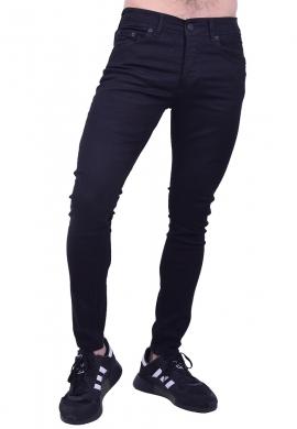 Παντελόνι τζιν μαύρο slim fit