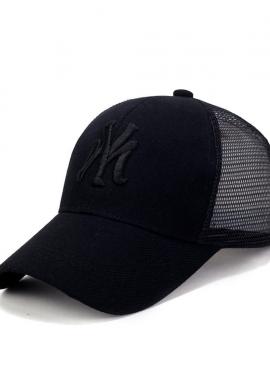Ανδρικό καπέλο trucker μαύρο