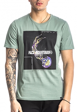Paco & co t-shirt 213517 με τύπωμα