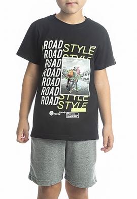 Joyce Σετ μπλούζα με βερμούδα 211755 με τύπωμα 2τμχ