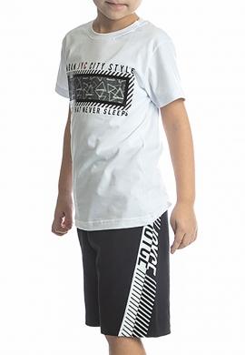 Joyce Σετ μπλούζα με βερμούδα 211728 με τύπωμα 2τμχ
