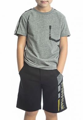 Joyce Σετ μπλούζα με βερμούδα 211722 με τύπωμα 2τμχ