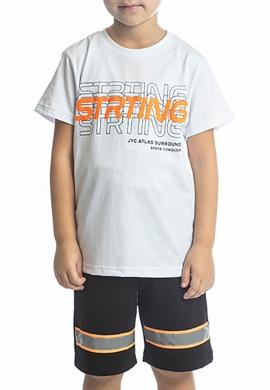 Joyce Σετ μπλούζα με βερμούδα 211731 με τύπωμα 2τμχ