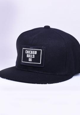 Ανδρικό καπέλο snapback μαύρο