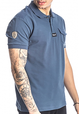 Paco & co 213603 Πόλο μπλούζα με τσεπάκι