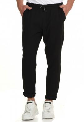 Biston 45-241-001 παντελόνι λινό μαύρο