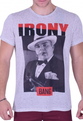 T-Shirt Strassed Bang Bang