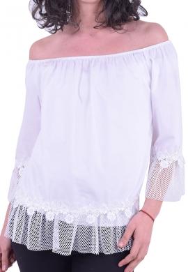 Μπλούζα Χαμόγελο Λευκή