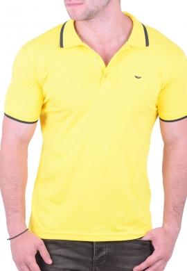 Πόλο Μπλούζα Κίτρινη