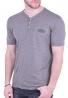 T-Shirt με V και τσεπάκι πούρο