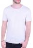 T-Shirt με λαιμόκοψη λευκό