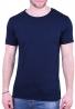 T-Shirt Με Λαιμόκοψη Μπλε