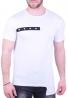 T-Shirt Ασύμμετρο Λευκό