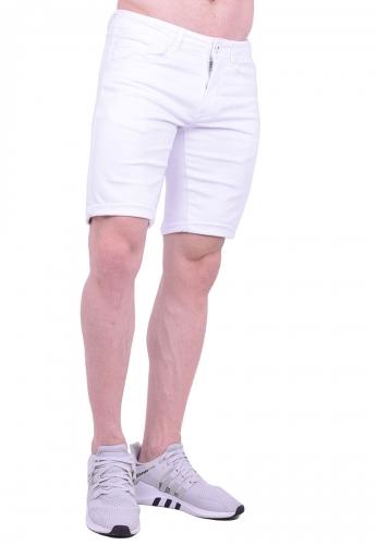 Βερμούδα τζιν λευκή