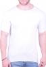 T-Shirt μονόχρωμο λευκό