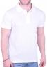 Πόλο Μπλούζα  μονόχρωμη λευκή