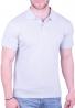 Πόλο Μπλούζα Μονόχρωμη γκρι